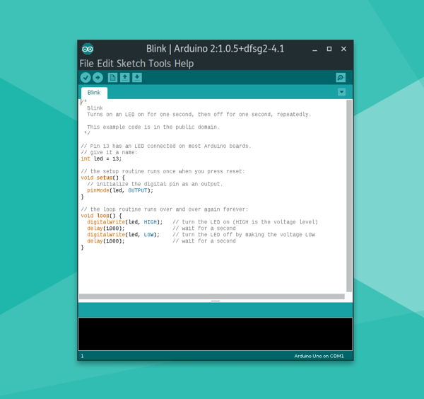 The Arduino IDE is a tried and true platform for beginning makers and coders, and runs great on the pi-top [4].